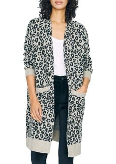 Sanctuary Cat's Meow Leopard Print Cardigan (Regular & Petite)