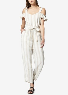 Sanctuary Chasing The Sun Striped Cold-Shoulder Jumpsuit