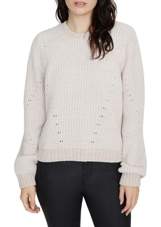 Sanctuary Chenille Out Pointelle Sweater (Regular & Petite)