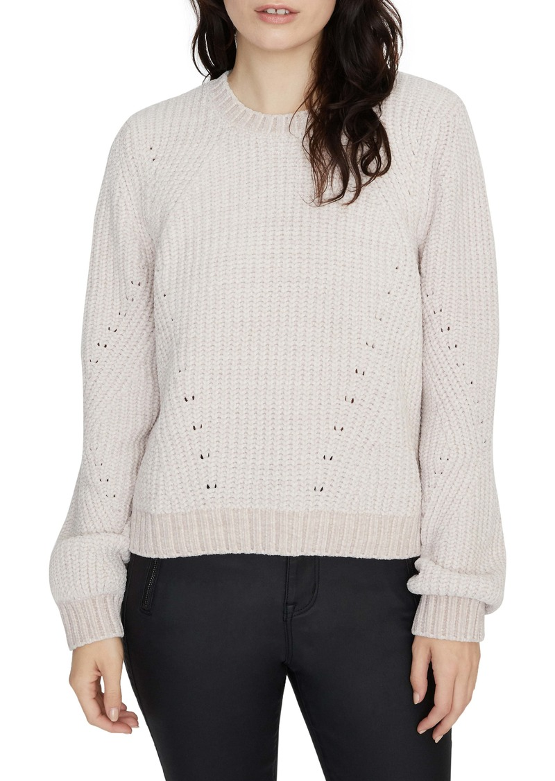 Sanctuary Chenille Out Pointelle Sweater (Regular & Petite)