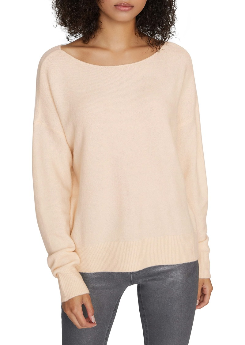 Sanctuary Chill Out Ballet Neck Sweater (Regular & Petite)