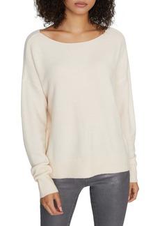 Sanctuary Chill Out Ballet Neck Sweater (Regular & Petite)