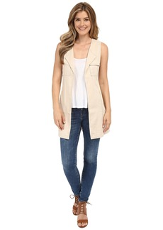 Sanctuary City Linen Duster Vest