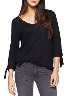 Sanctuary City Tie Cuff Top