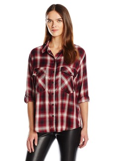 Sanctuary Clothing Women's Boyfriend Shirt  S