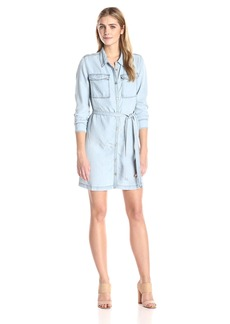 Sanctuary Clothing Women's Croquet Denim Shirt Dress