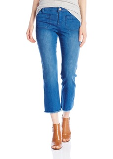Sanctuary Clothing Women's Marianne Frayed Crop Pant  25