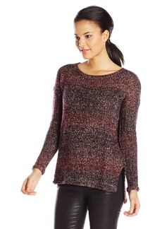 Sanctuary Clothing Women's Northern arled Pullover Sweater ulberry/ink edium