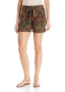 Sanctuary Clothing Women's Sash Rayon Linen Short  28