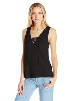 Sanctuary Clothing Women's Serene Laced Tank  X-Small