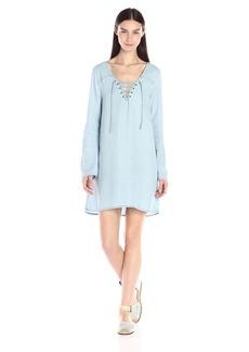 Sanctuary Clothing Women's Sienna Tie Front Tunic Dress
