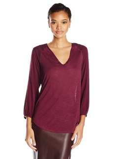 Sanctuary Clothing Women's Wayward Boho Peasant Top