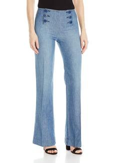 Sanctuary Clothing Women's Wide Leg Linen Sailor Pant