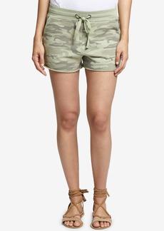 Sanctuary Cotton Camo-Print Shorts