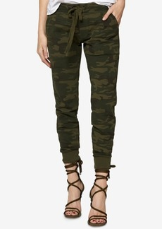 Sanctuary Cotton Camouflage-Print Jogger Pants, Created for Macy's