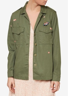 Sanctuary Cotton Embroidered Military Jacket