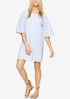 Sanctuary Cotton Eyelet Shift Dress