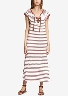 Sanctuary Cotton Striped Maxi Dress