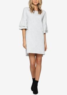 Sanctuary Cotton Tiered-Sleeve Sweatshirt Dress