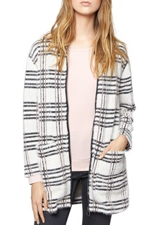 Sanctuary Cr�me Br�l�e Metallic Plaid Jacket