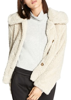 Sanctuary Cropped Sherpa Jacket