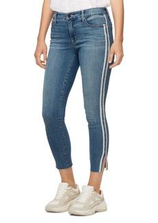 Sanctuary Cropped Skinny Jeans in Bluebird Racer Stripe