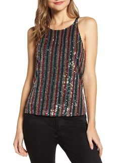 Sanctuary Cyber Sequin Tank (Regular & Petite)