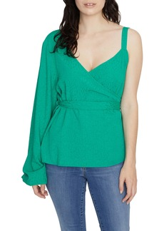 Sanctuary Dani One-Sleeve Wrap Top