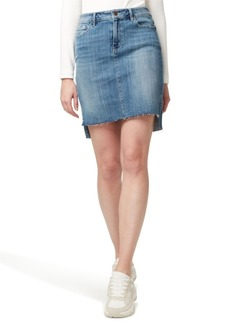 Sanctuary Denim Rio Vista Step Hem Jean Skirt