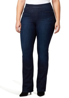 Sanctuary Plus Size Uplift Pull-On Demi Boot Jeans