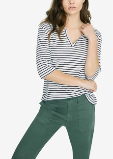 Sanctuary Ella Linen Striped T-Shirt
