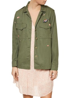 Sanctuary Embroidered Field Jacket