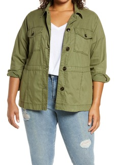 Sanctuary Every Which Way Utility Jacket (Plus Size)