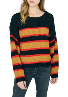 Sanctuary Ezra Stripe Crewneck Sweater (Regular & Petite)