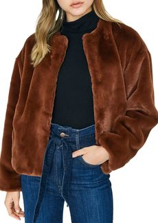 Sanctuary Faux-Fur Jacket