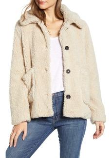Sanctuary Faux Fur Teddy Coat (Regular & Petite)