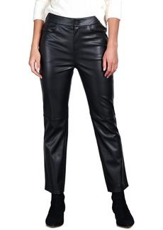 Sanctuary Faux-Leather Crop Pants