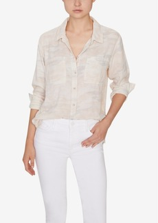 Sanctuary Favorite Boyfriend Cotton Shirt