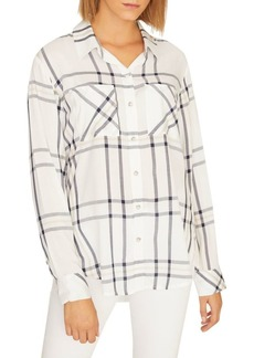 Sanctuary Favorite Boyfriend Plaid Shirt