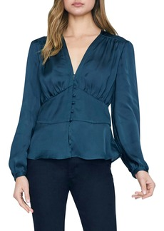 Sanctuary Favorite Romance Satin Blouse (Regular & Petite)
