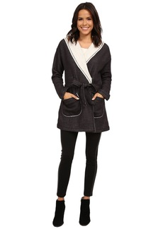 Sanctuary Fleece Wrap Jacket