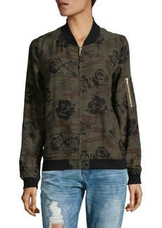Sanctuary Floral Bomber Jacket