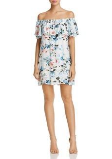 Sanctuary Floral Off-the-Shoulder Dress
