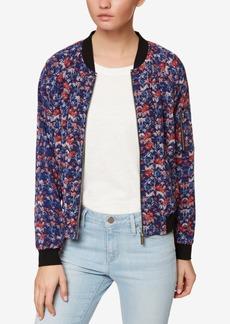Sanctuary Floral-Print Bomber Jacket
