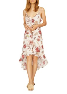 Sanctuary Floral-Print High/Low Dress