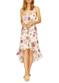 Sanctuary Floral V-Neck Prarie Dress