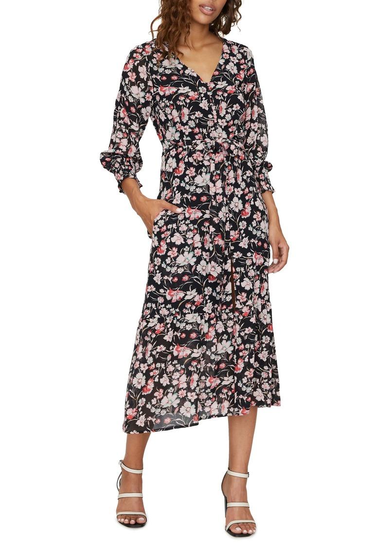 Sanctuary Fontana Long Sleeve Midi Dress