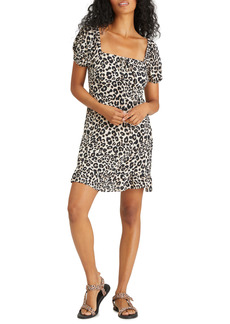 Sanctuary Fresh Breeze Leopard Print Minidress