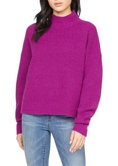 Sanctuary Fuzzy Mock Neck Sweater