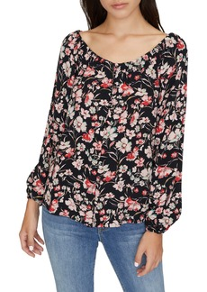 Sanctuary Genevieve Floral Top (Regular & Petite)